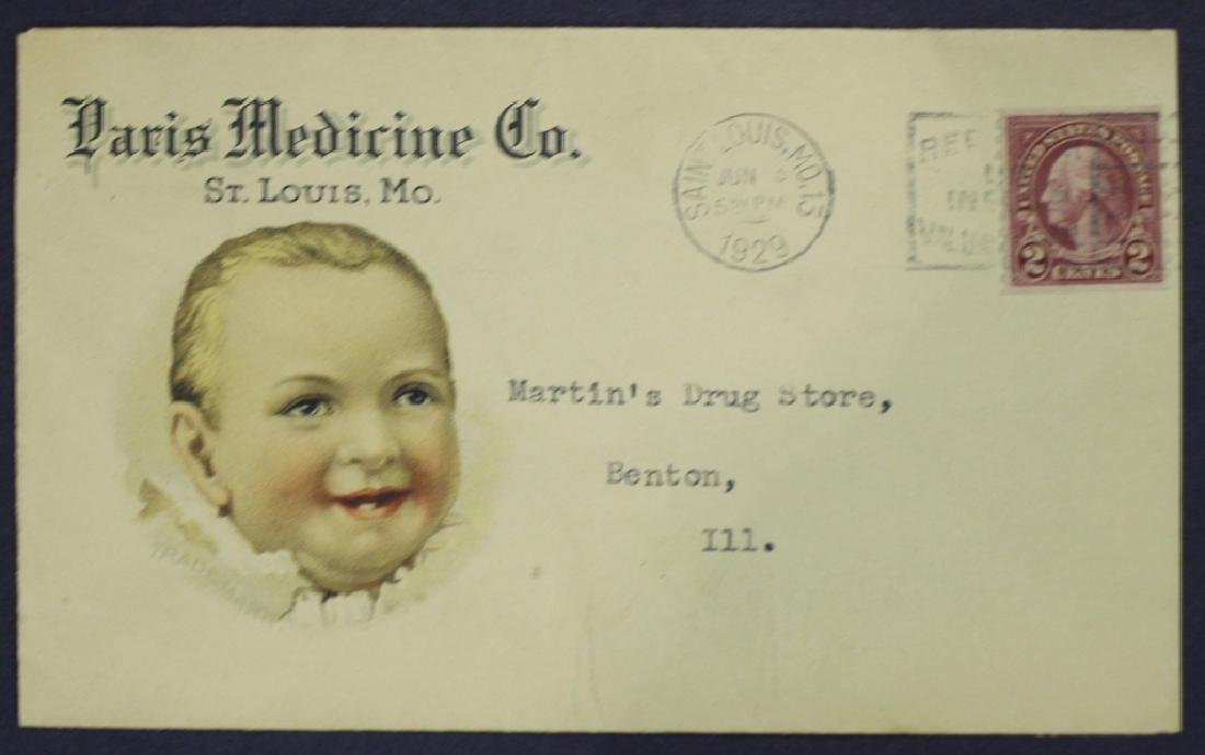 Paris Medicine Advertising Cover