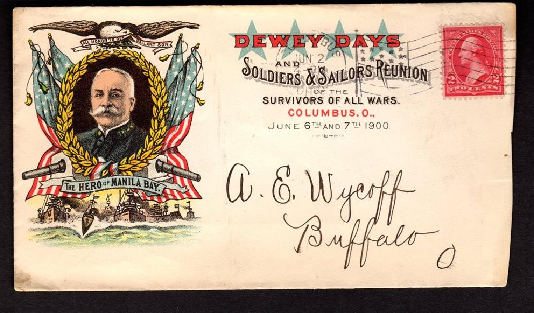 Dewey Days Patriotic Hero of Manila Advertising Cover