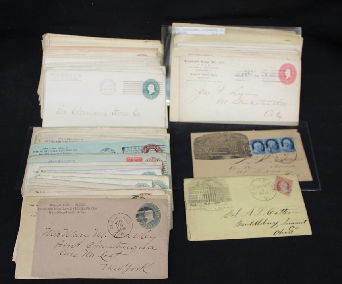(100)+ 1890-1930 era Cleveland Related Covers