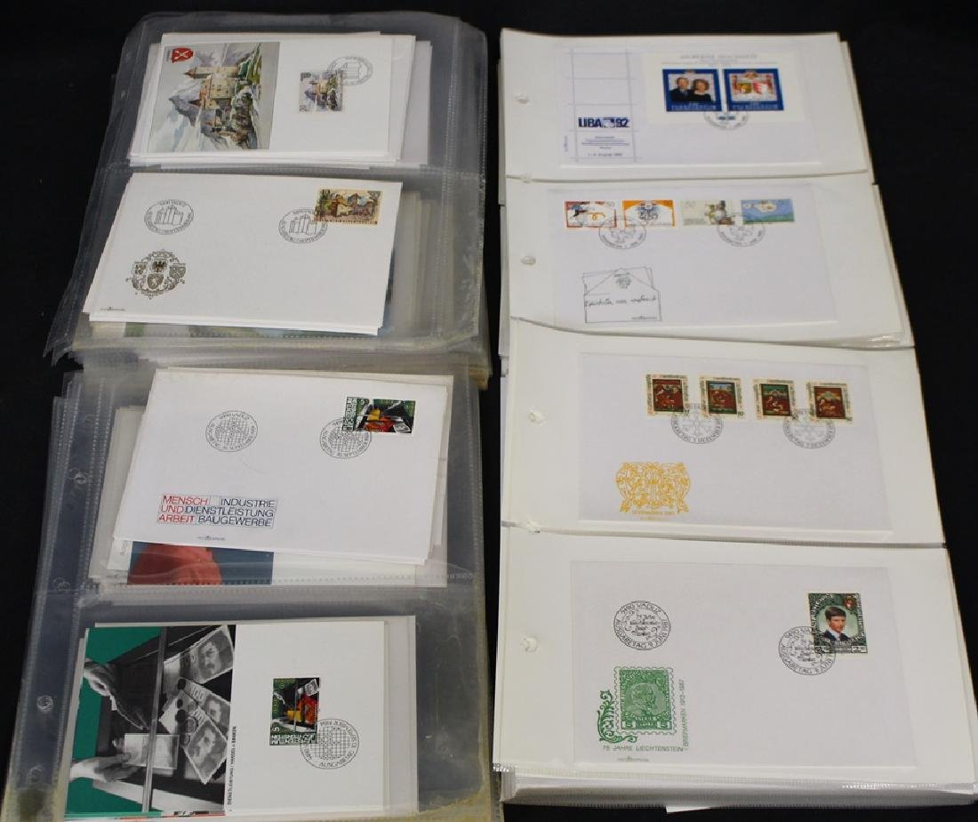 Liechtenstein  - (200)+ Official First Day Issues