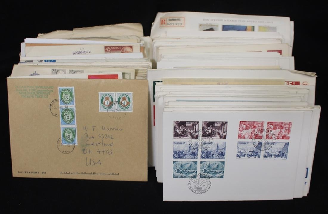 Scandinavian First Day and Event Cover Lot with Better