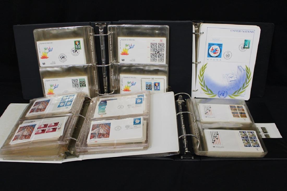 United Nations First Day Cover Collection (400)+