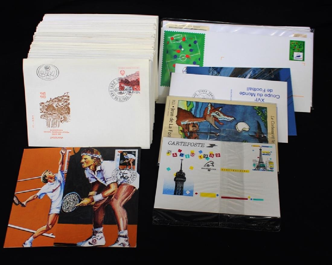 Yugoslavia & France First Day Cover Lot