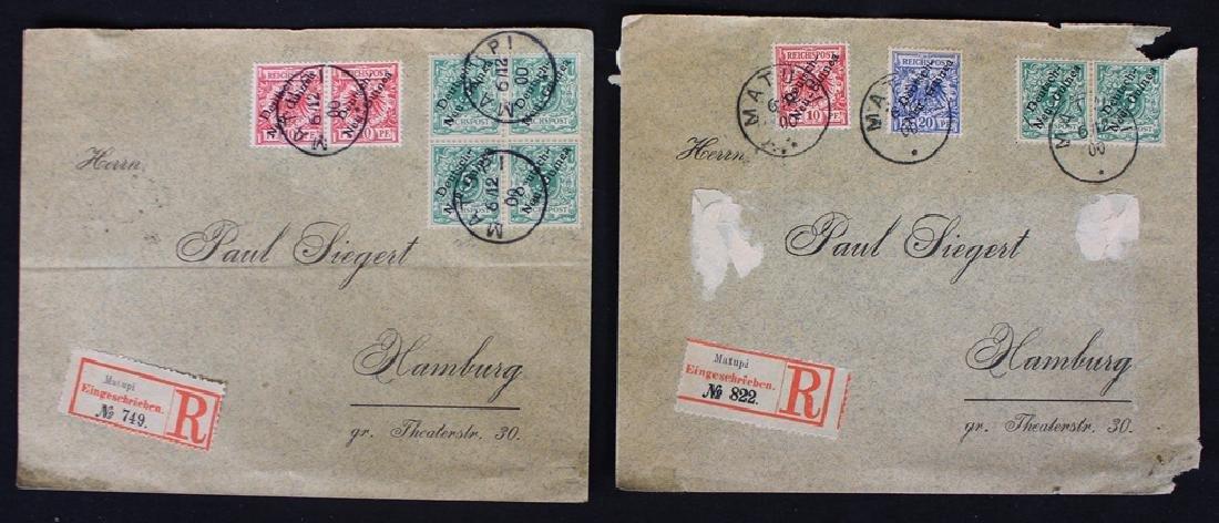 German Colonies Covers (5)