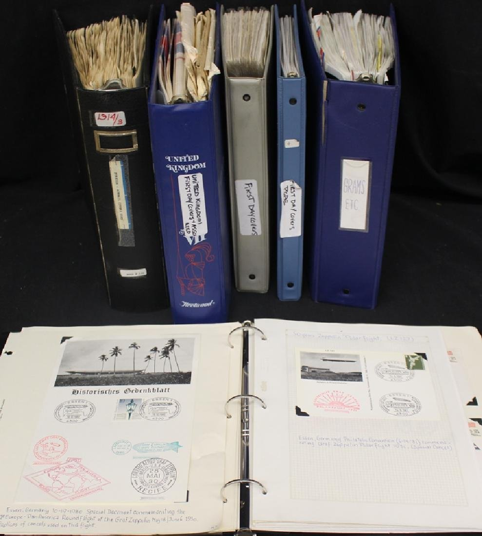 Worldwide Cover Collection in (5) Binders