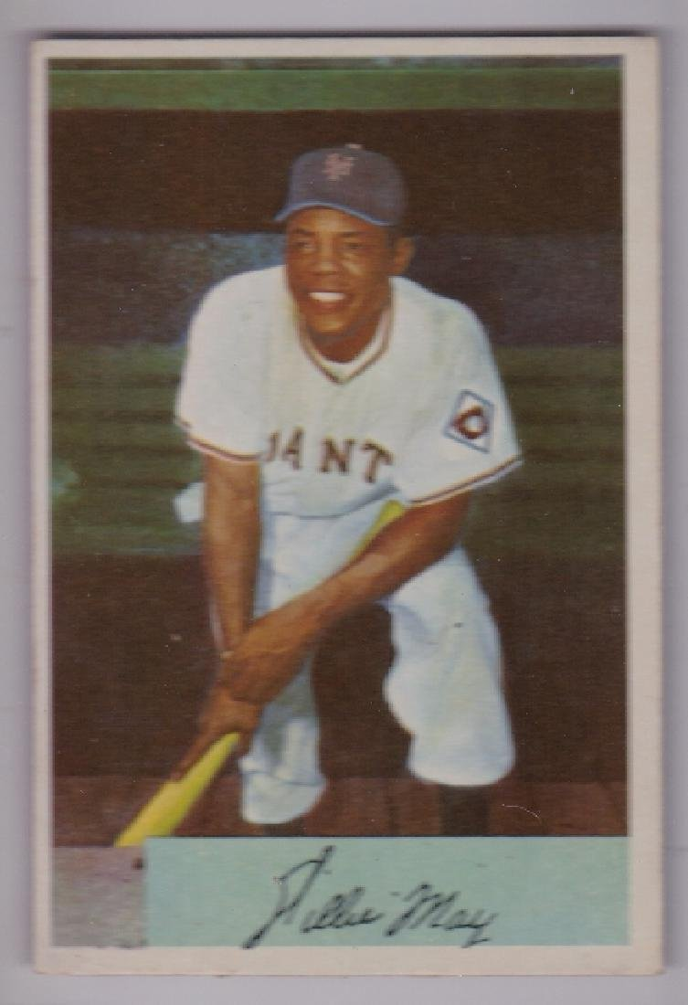 1954 Bowman #89 Willie Mays Card