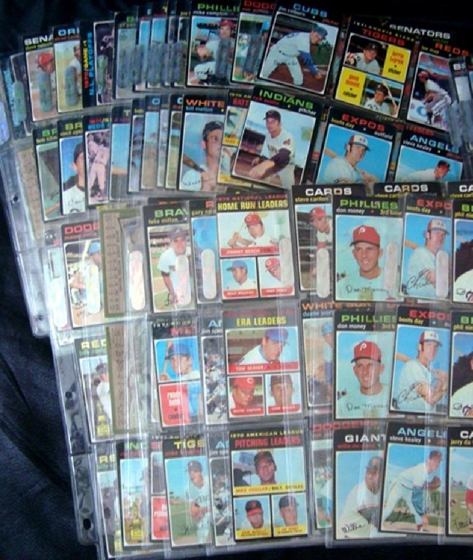 1971 Topps Baseball Card Lot, (800+) Cards w Stars - 4