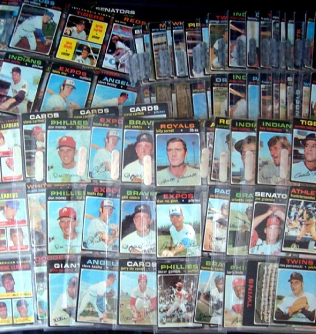 1971 Topps Baseball Card Lot, (800+) Cards w Stars - 5