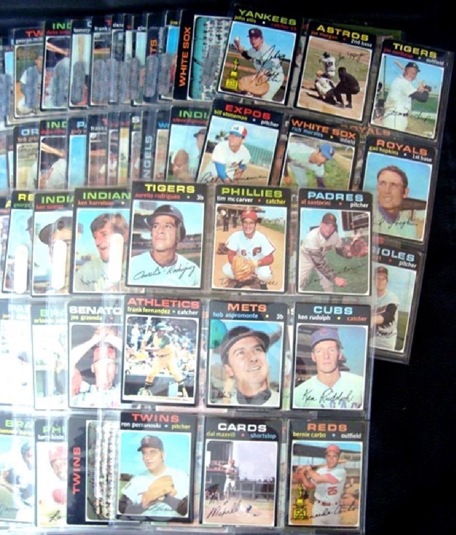 1971 Topps Baseball Card Lot, (800+) Cards w Stars - 6