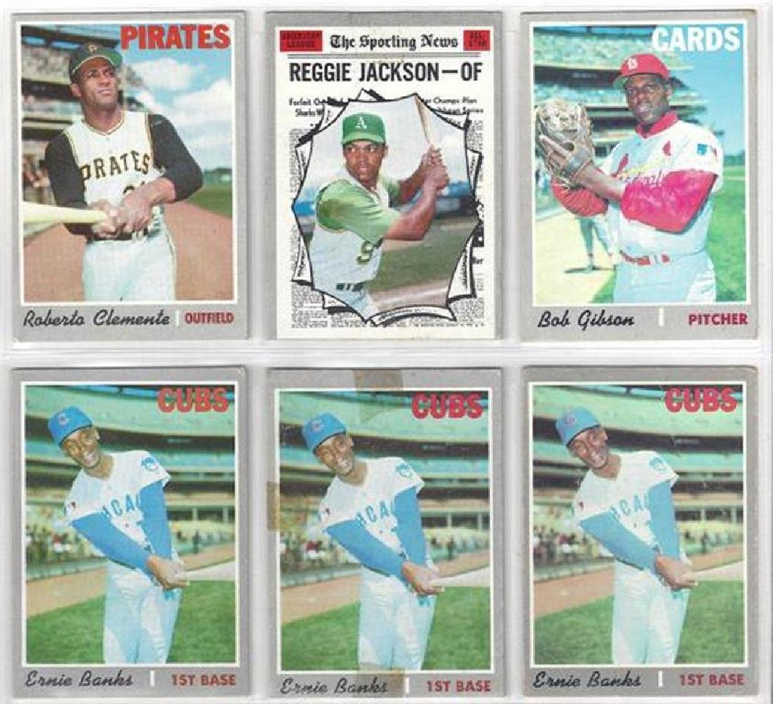 1970 Topps Baseball Card Lot, (525 Cards ++) with Stars