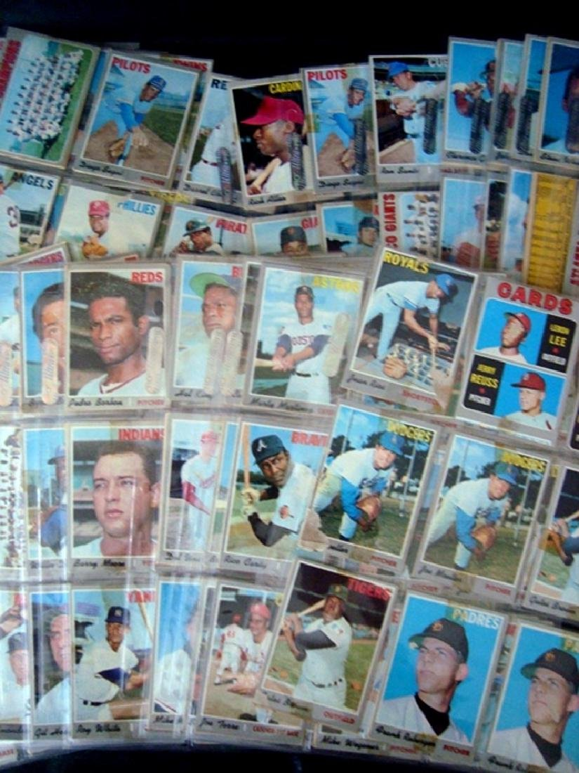 1970 Topps Baseball Card Lot, (525 Cards ++) with Stars - 4