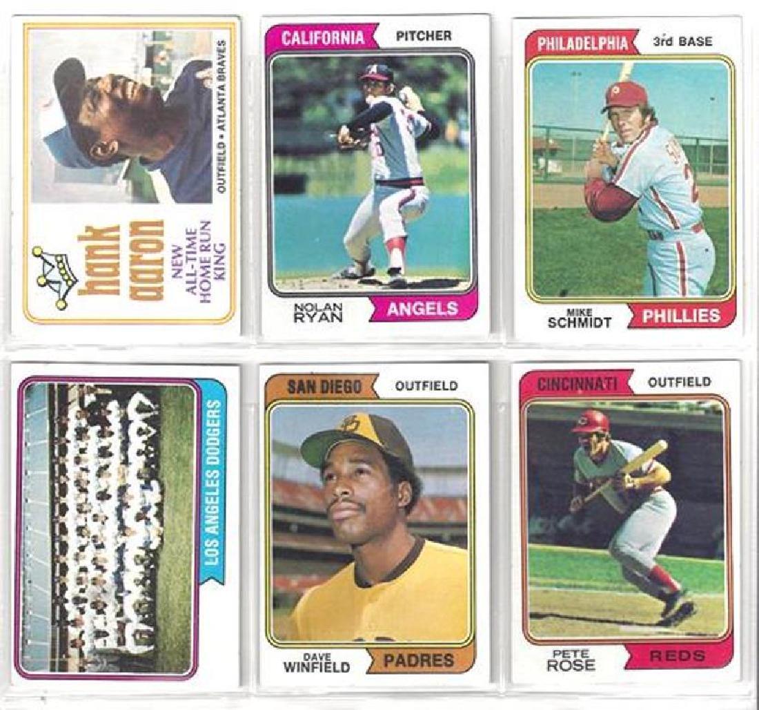 1974 Topps Baseball Card Complete Set, (660 Cards)