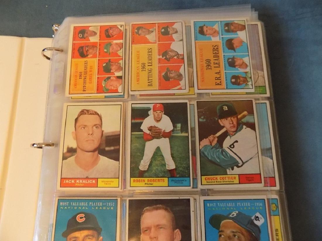 1961 Topps Baseball Assorted Lot 240 Cards Vg-ex