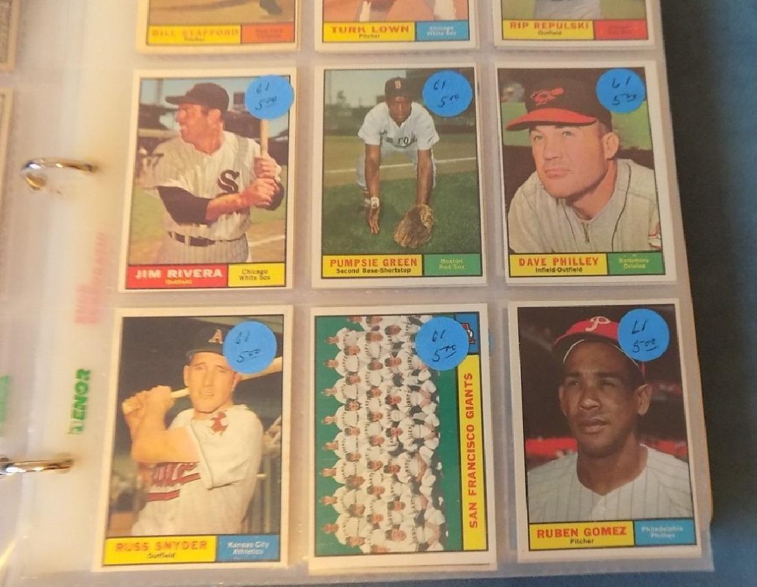 1961 Topps Baseball Assorted Lot 240 Cards Vg-ex - 2