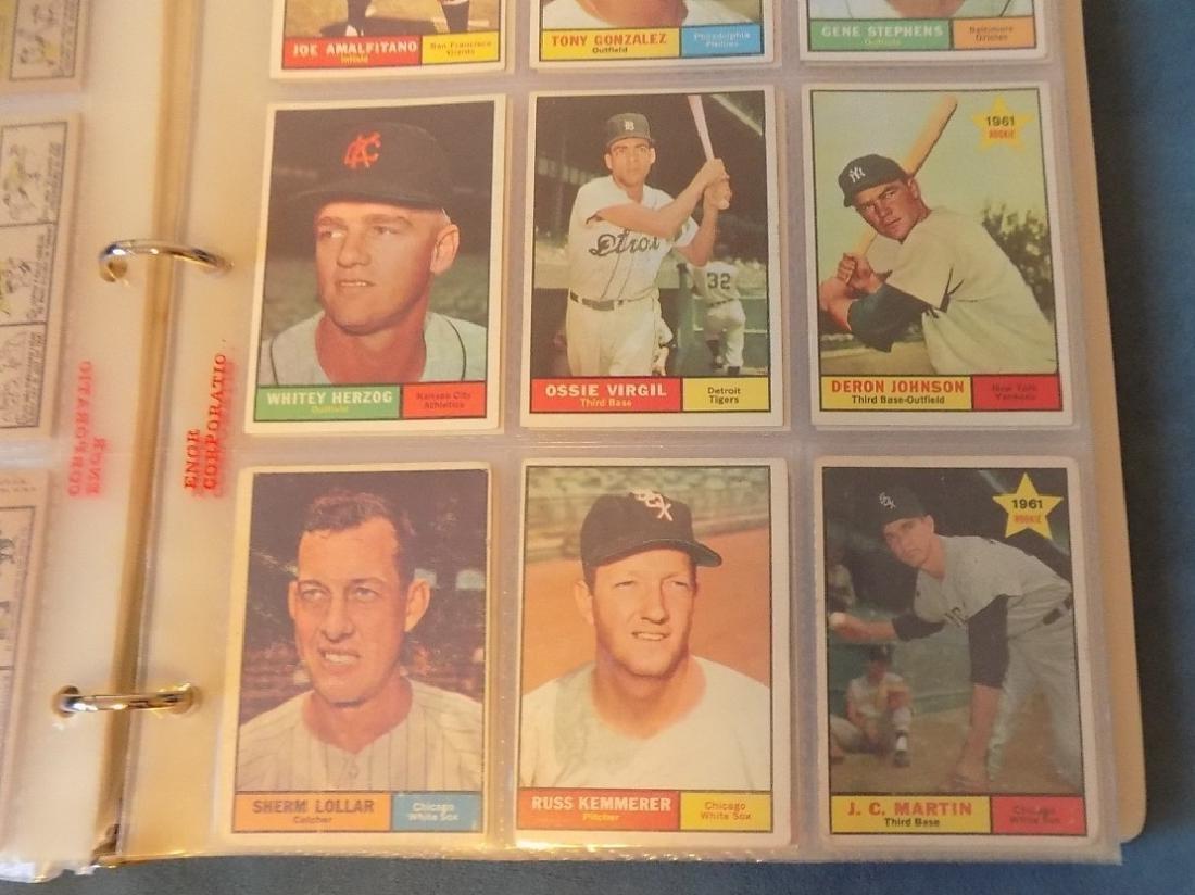 1961 Topps Baseball Assorted Lot 240 Cards Vg-ex - 3