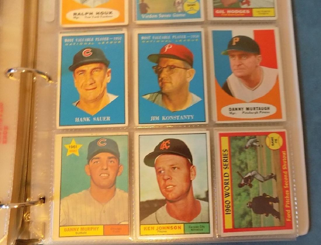 1961 Topps Baseball Assorted Lot 240 Cards Vg-ex - 4