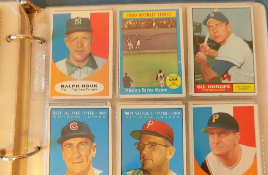 1961 Topps Baseball Assorted Lot 240 Cards Vg-ex - 5