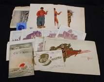 1893 and 1904 World's Fair Paper Ephemera Lot