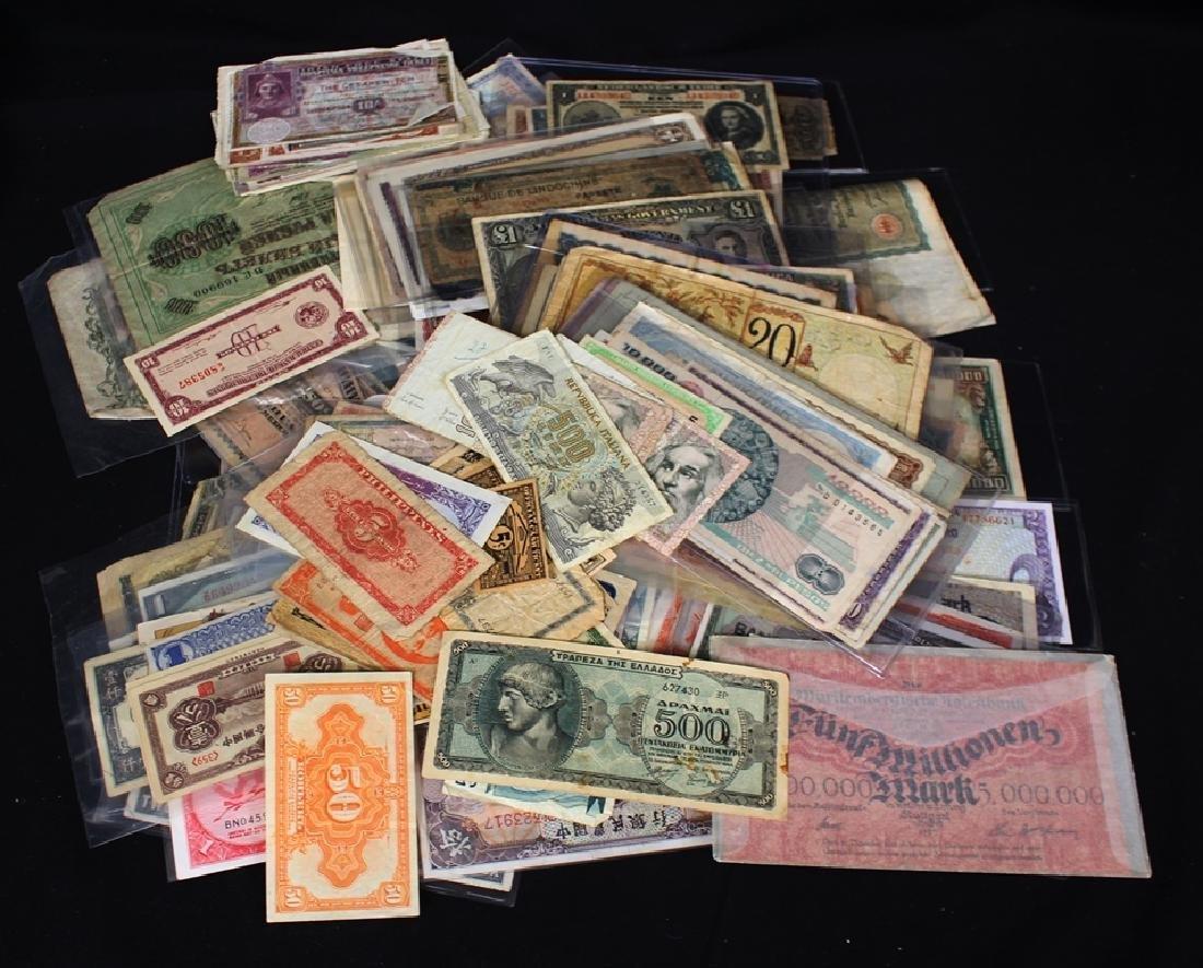 Worldwide Currency Lot