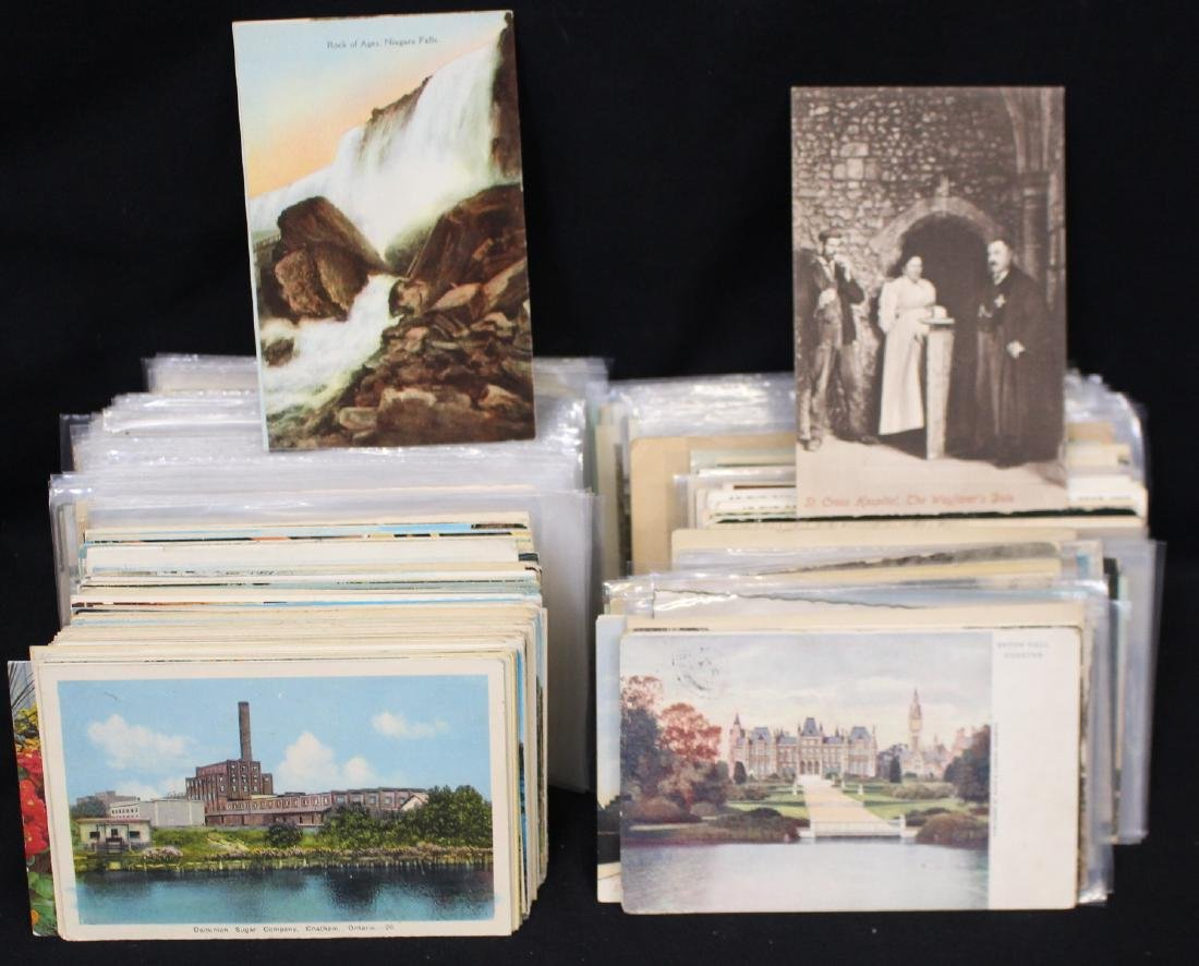 (600-800) Mostly Foreign Postcards