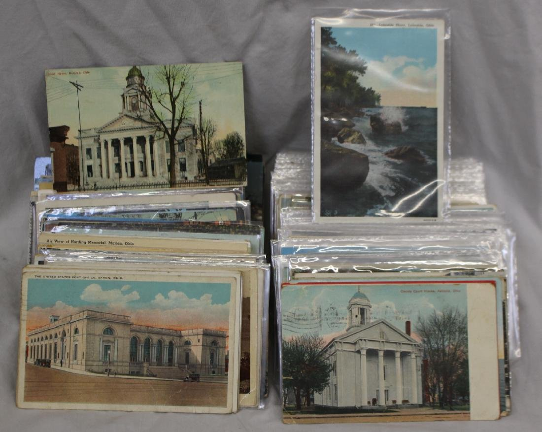 (600-800) Ohio Mixed Towns and Views Postcards