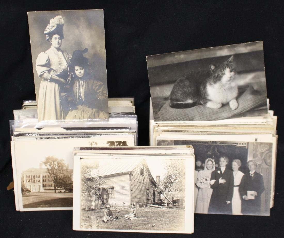 (300)+ Real Photo Postcards
