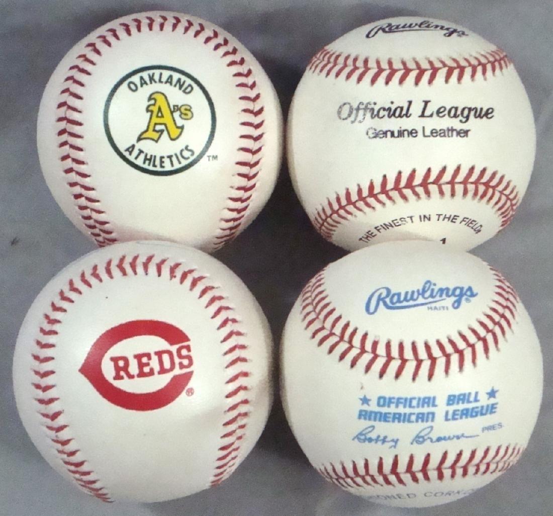 Lot of (4) Autographed Baseballs by Stars - Kaline, - 2