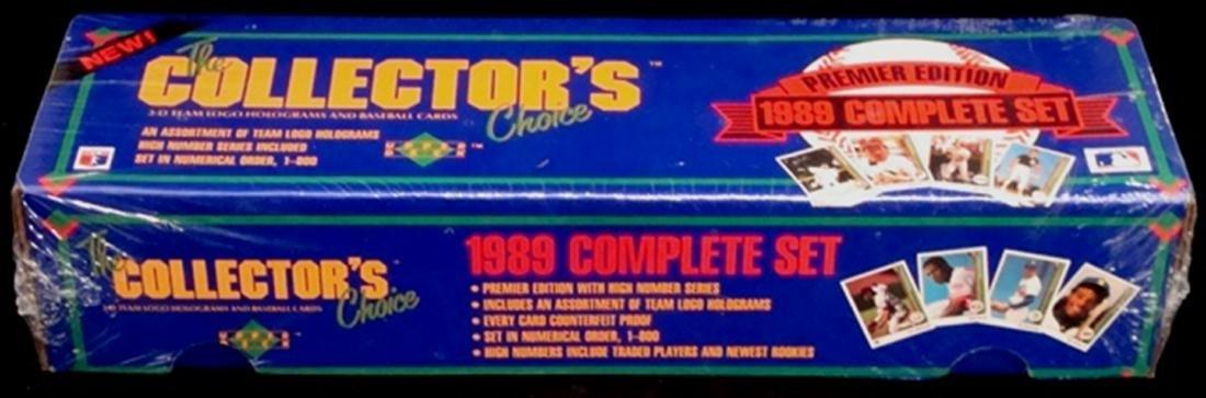 1989 Upper Deck Baseball Sealed Wax Box w Griffey RC
