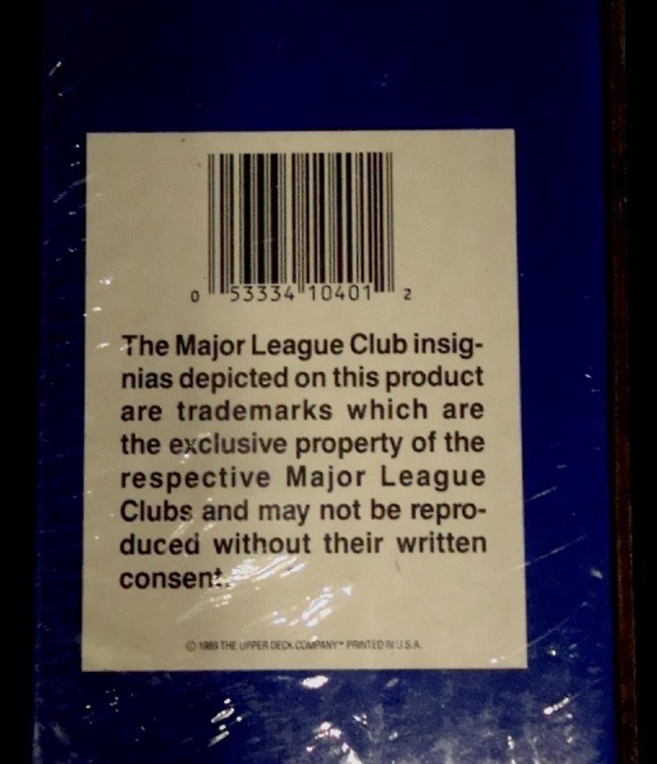 1989 Upper Deck Baseball Sealed Wax Box w Griffey RC - 3
