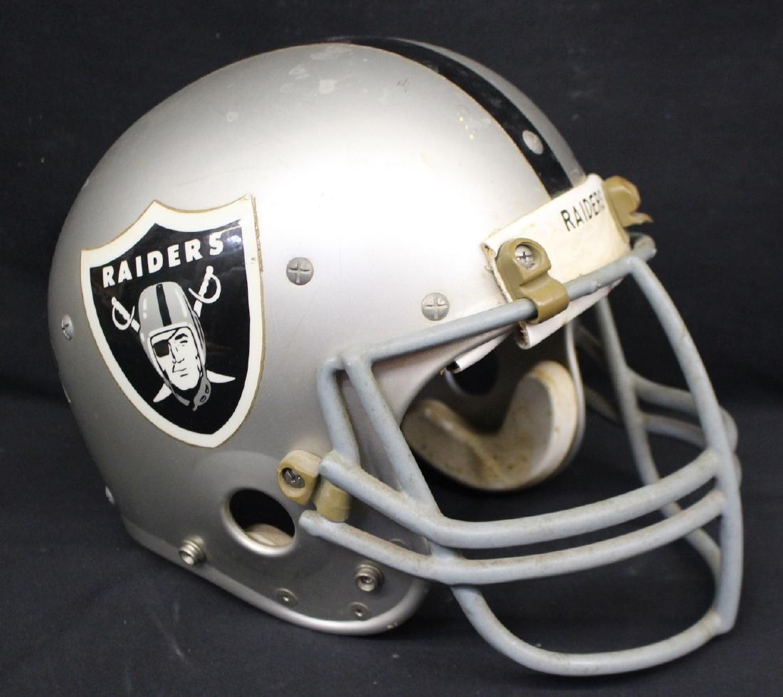 Oakland Raiders Game Used Football helmet