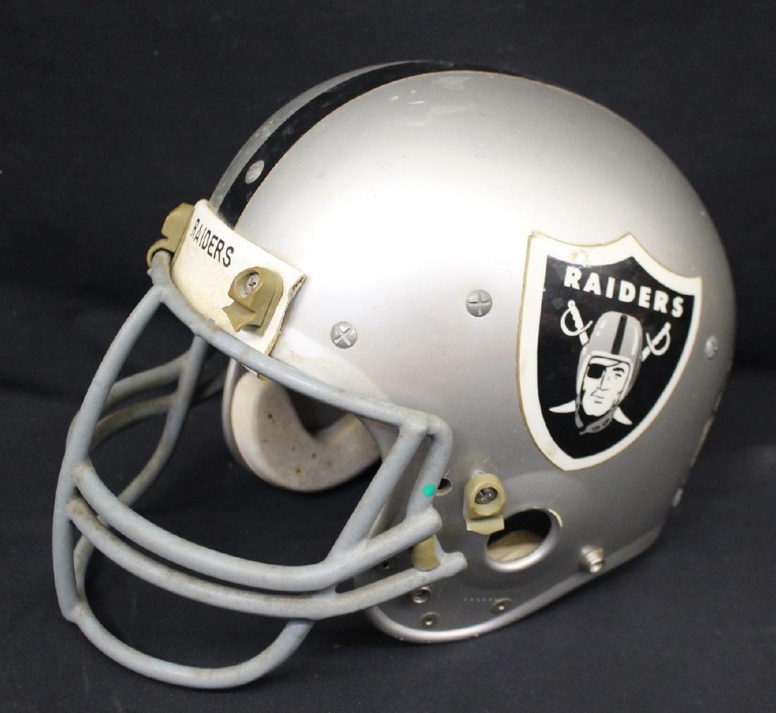 Oakland Raiders Game Used Football helmet - 2