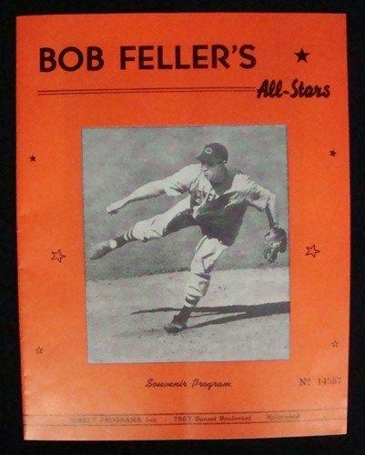 143: 1946 Bob Feller's vs  Satchel Paige's All-Stars So