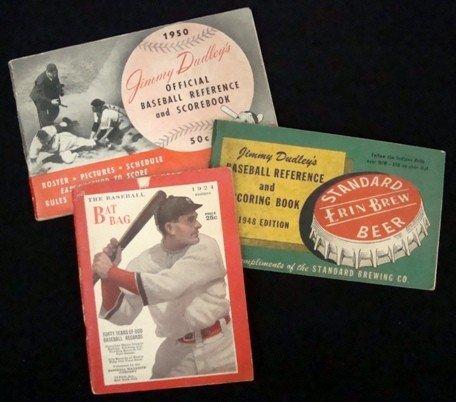 7: Lot of (3) Vintage Sports Publications