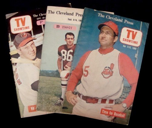 8: 1960's Cleveland Press TV Showtime Issues