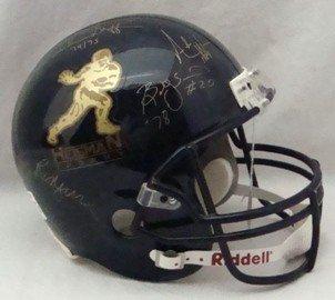 45A: Heisman Trophy Winners Signed Full Size Helmet
