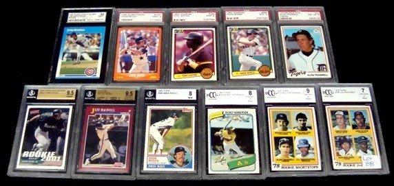 88: Lot of (11) Graded Star Cards, PSA, Beckett
