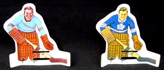104: 1960's Coleco Table Top Tin Hockey Player Set - 2