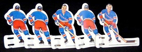 104: 1960's Coleco Table Top Tin Hockey Player Set - 3
