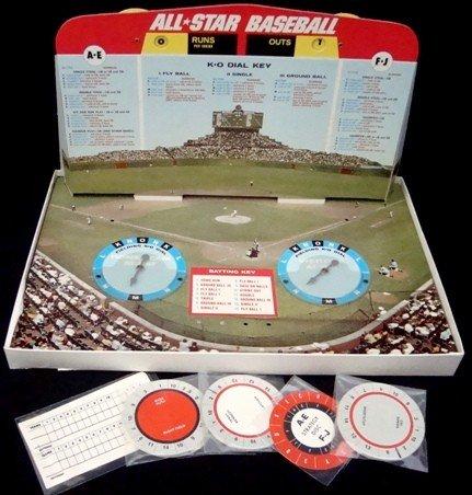 182: 1968 Cadaco All-Star Baseball Game No. 183 - 2