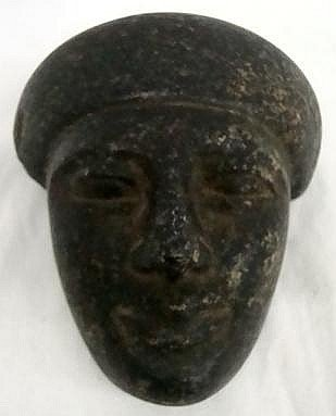 7: Ancient Egyptian Carve Stone Face
