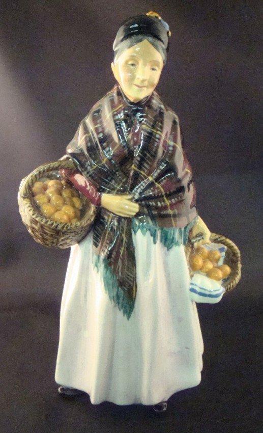 18: Royal Doulton The Orange Lady