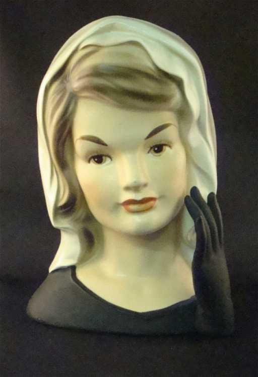20 Jackie Kennedy Inarco Head Vase