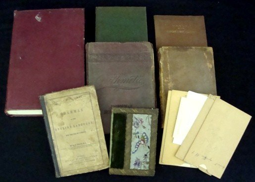 5: Lot of Educational Text/Reference Books, c. 1800's-1