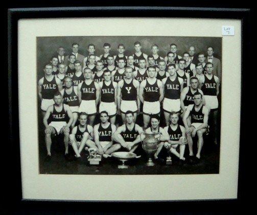 7: 1949 Yale Track Team Photo