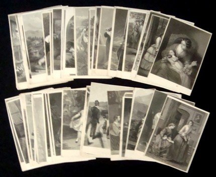 10: Lot of (65) Vintage Book Plates