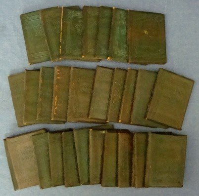 17A: Little Leather Library Collection, 29 Books