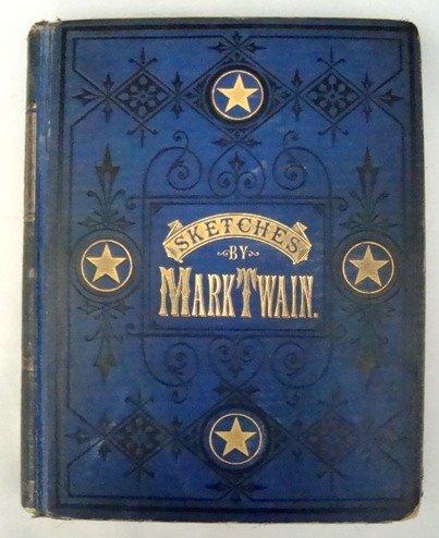 19: Mark Twain's Sketches, 1st Ed. 1875