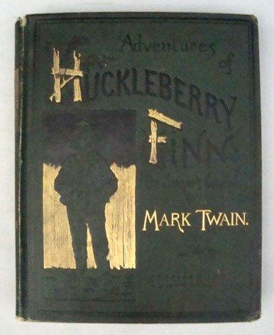 21: Adventures of Huckleberry Finn by M. Twain, 1st Ed.