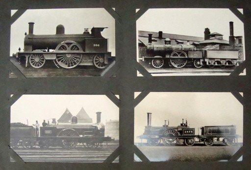 169: Lot of Vintage Train, Railroad Postcards/Real Phot