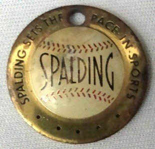 11: Early Spalding Luggage Tag